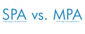 Single Page Web Application vs. Multi Page Web Application